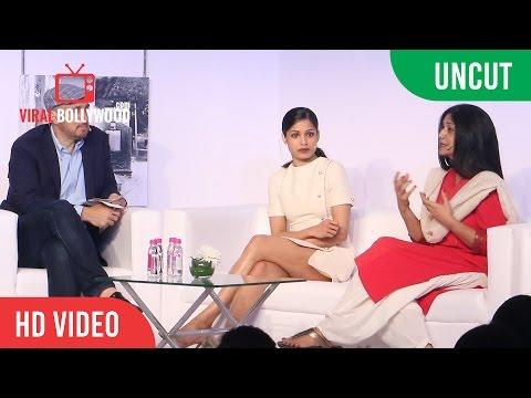 UNCUT -  Google's Women Will Press Conference | Freida Pinto | Nandita Das