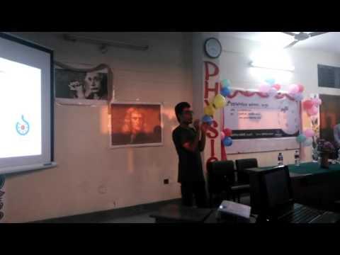 bangla wikipedia workshop at begum rokeya university by nahid sultan