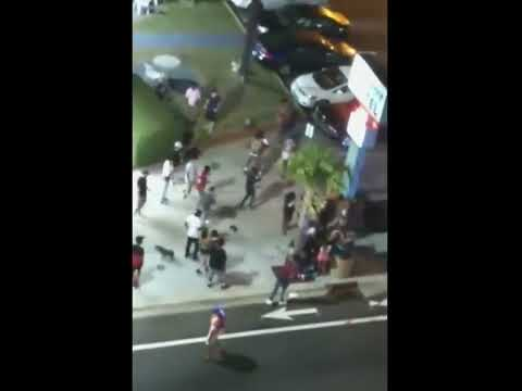 Some cellphone footage of last night's shooting in Myrtle Beach