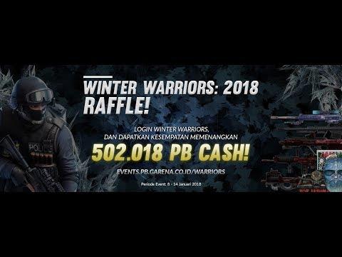 Pengundian 502.018 PB Cash! Winter Warriors 2018 Raffle.