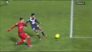 Dugarry et le but de Zlatan [ Bordeaux - PSG ] 22/01/13