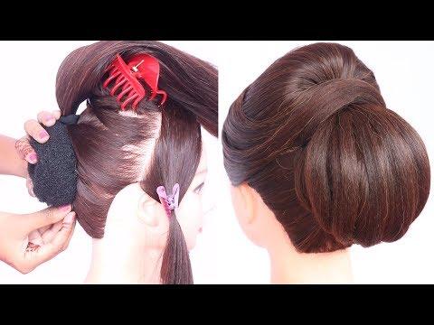 new heatless ladies hair style | cute hairstyles | hair style girl | simple hairstyle | hairstyle thumbnail