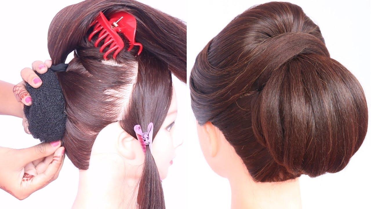 new heatless ladies hair style | cute hairstyles | hair style girl | simple hairstyle | hairstyle