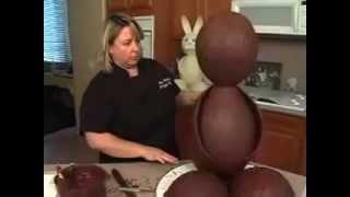 GIANT Chocolate Easter Bunny How to Make HUGE Bunnies Candy Making Video Tutorial Preview