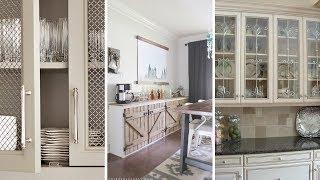 10 DIY Kitchen Cabinets Refacing Ideas