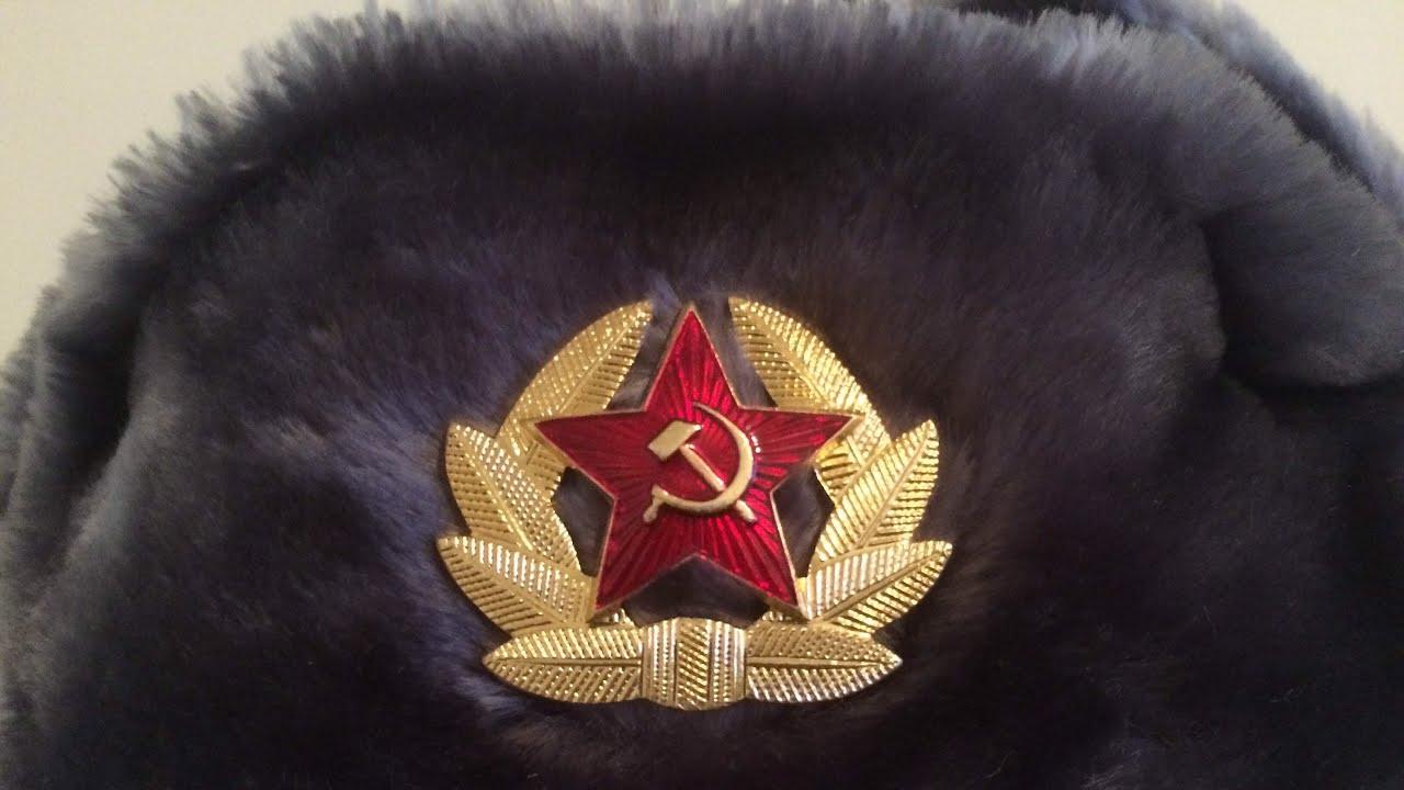 56cf4938a39 Soviet Russian Ushanka Review - YouTube
