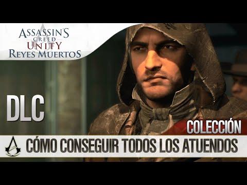 Assassin's Creed Unity:Reyes Muertos (Dead Kings)DLC|Conseguir Todos los Atuendos(Trajes)|All Outfit