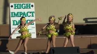 """Itsy Bitsy Teeny Weeny Yellow Polka Dot Bikini"" Dance"