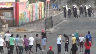 البحرين   مواجهات بلدة الدير وفاءً للرموز القادة في السجون , 12 4 2012
