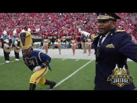 Southern University Human Jukebox Halftime Show 2015 @ UGA Sanford Stadium