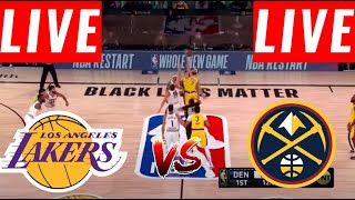 [LIVE] Los Angeles Lakers vs Denver Nuggets Full Game | Game 2 West Final | NBA Playoffs Sept 20