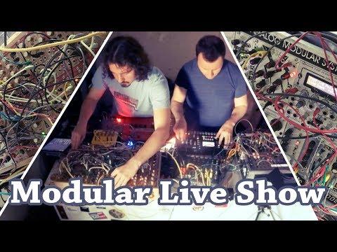 Modular Live Performance w/ VLK @ Bended Realities 2017 #TTNM