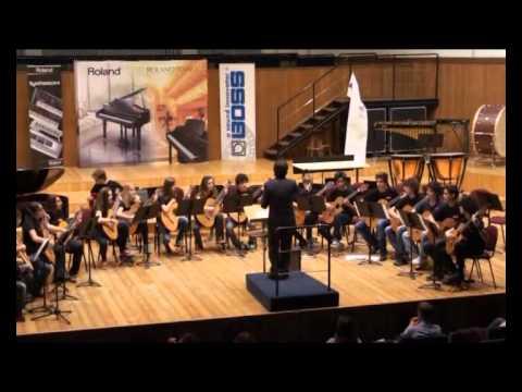 Ensemble di chitarre ICM sala Verdi del Conservatorio di Milano