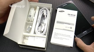 Samsung Galaxy Note 4 Unboxing (Greek)