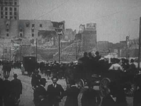 the destruction caused by the 1906 san francisco earthquake The 1906 san francisco earthquake and subsequent fires destroyed at least 28,000 buildings and left 225,00 of the city's 400,000 residents.