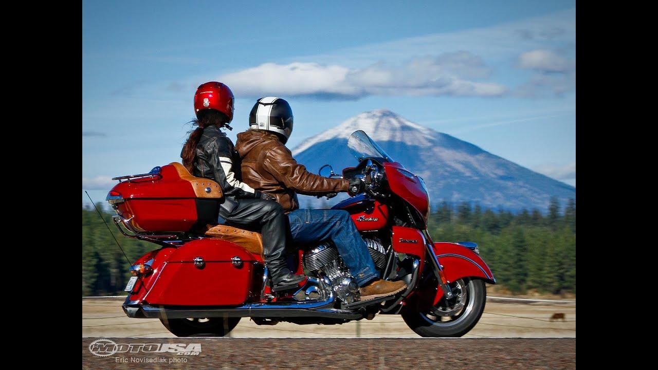 2015 Indian Roadmaster Review - MotoUSA - YouTube