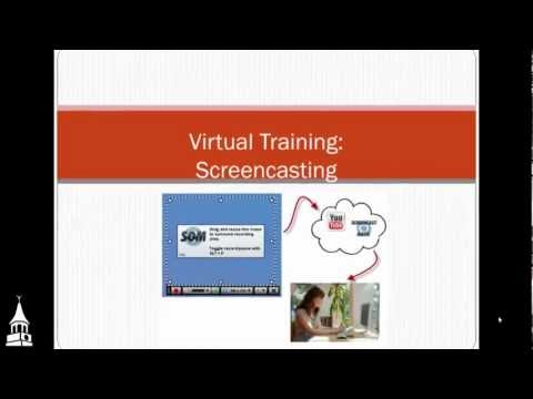 Virtual Training:  Screencasting