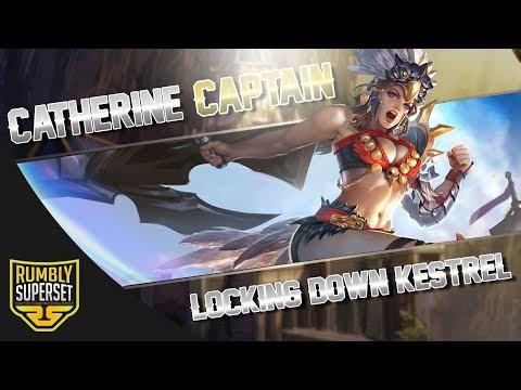 Vainglory YoloQ - Ep 32 LOCKING DOWN KESTREL!! Catherine |Captain| [SoloQ] Gameplay |Update 2.4|