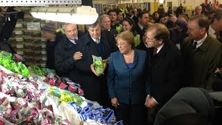 Chilean President Michelle Bachelet visits Delaware