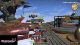 FFXIV Dun Scaith 24 Man Raid + Cutscenes (First Runthrough)