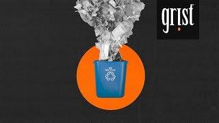 إعادة تدوير الكثير من القمامة ، إنه خلق أزمة دولية