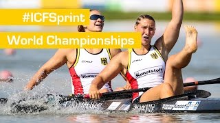 REPLAY: Day 4 Finals | 2015 ICF Jr & U23 Canoe Sprint World Championships | Portugal