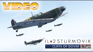 IL-2 Cliffs of Dover Blitz Edition (Team Fusion) - First Look Gameplay 📽🎞