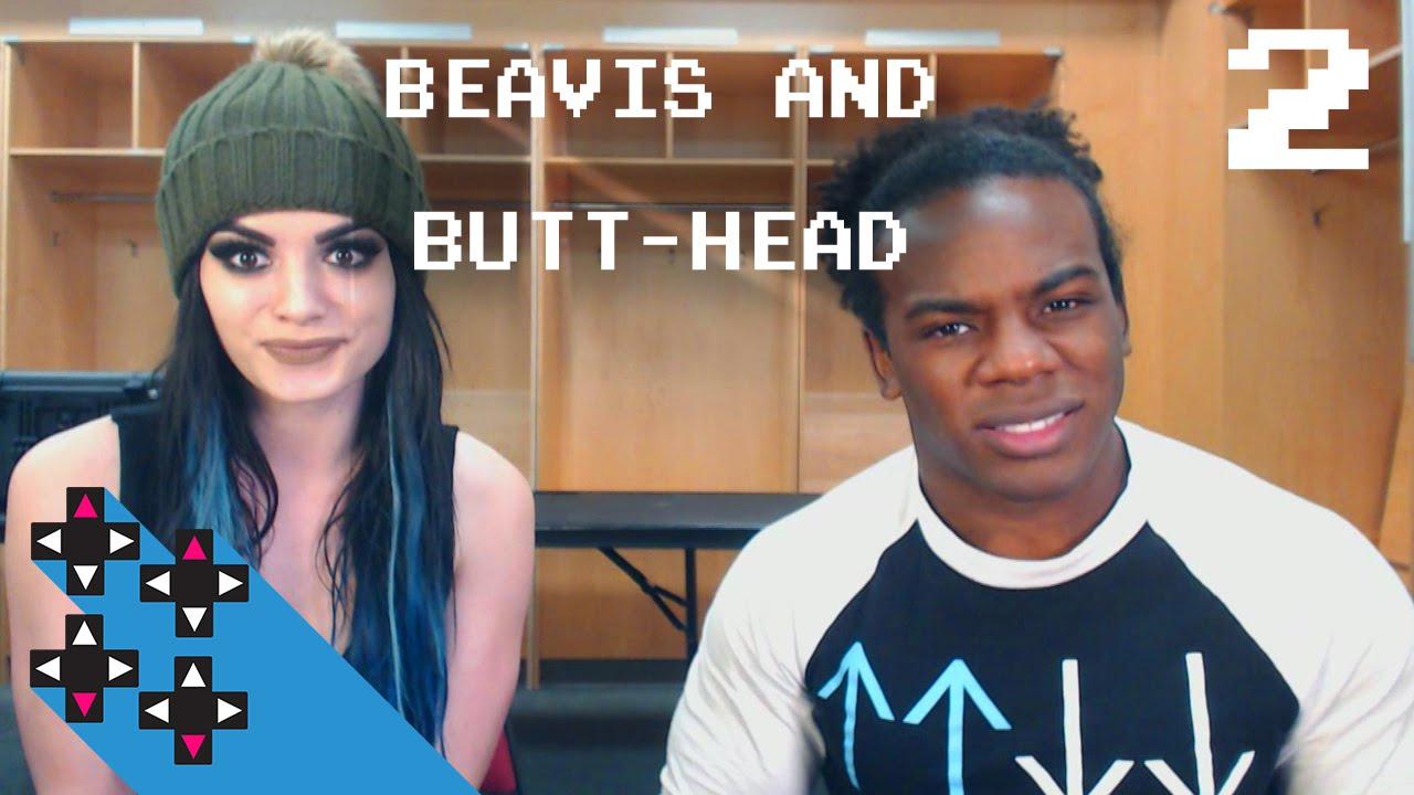 farting on command? (beavis & butt-head w/ paige part 2) — superstar