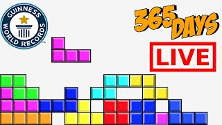 Playing Tetris For 1 Year, Every like makes it Faster *World Record*