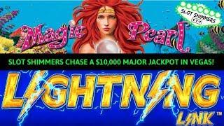 HIGH LIMIT LIGHTNING LINK SLOT ⚡️ $10,000 MAJOR JACKPOT CHASING 💰 MAGIC PEARL 🐬 SLOT SHIMMERS