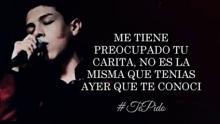 (LETRA) ¨TE PIDO¨ - Cornelio Vega Jr (Lyric Video)