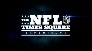 NFL & Cirque Du Soleil Team up for NYC Times Square Experience | NFL
