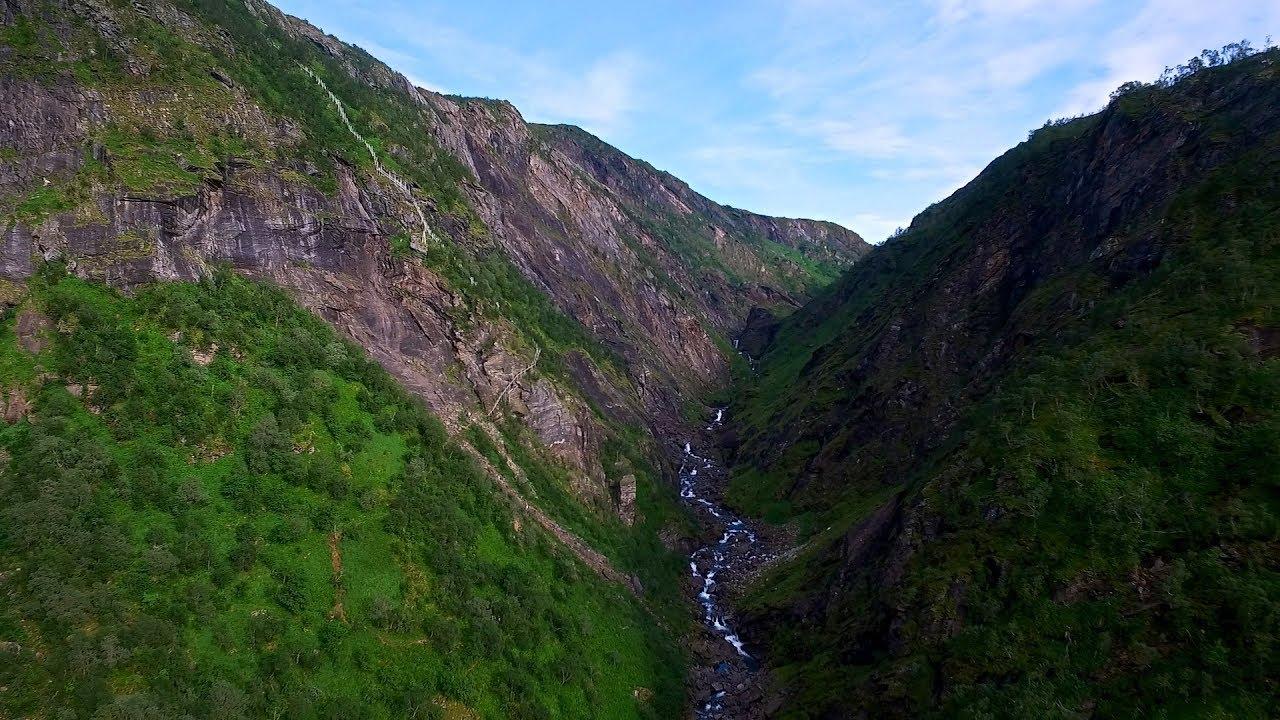 Fykan stairway in Northern Norway