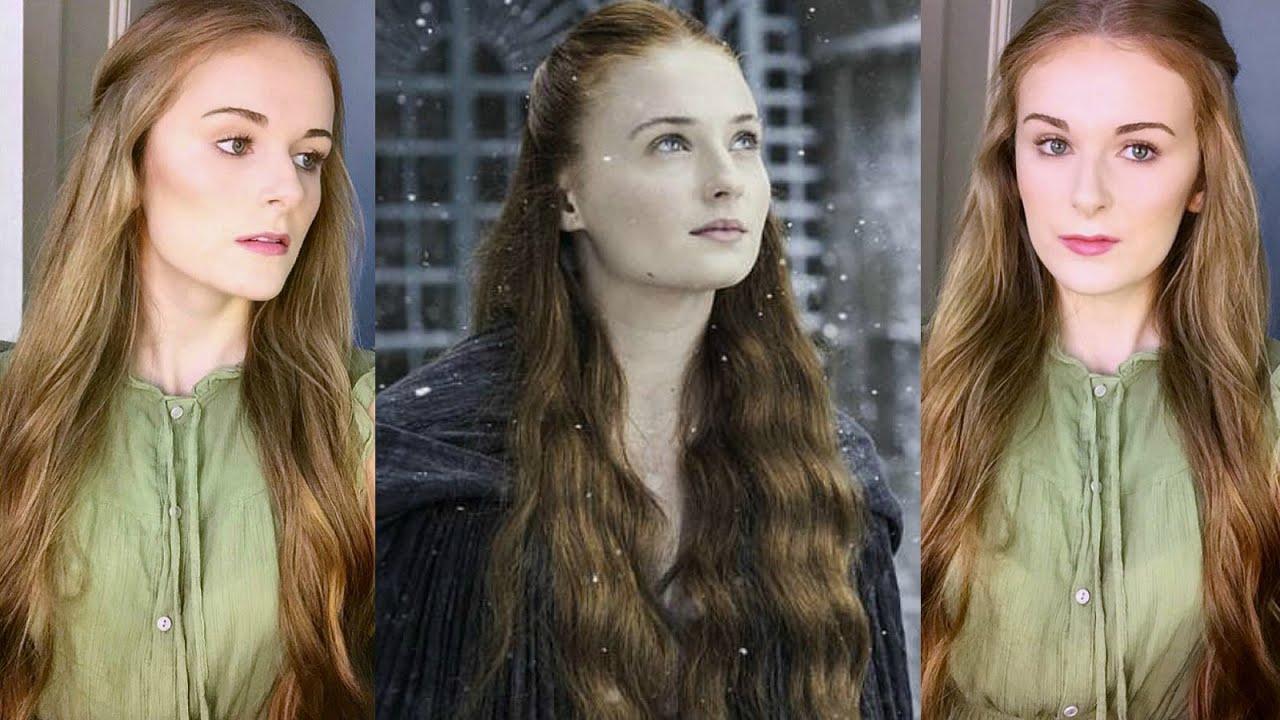 Sansa Stark Hair + Makeup Tutorial | 'Game of Thrones