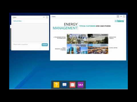 Iskra Energy Management webinar