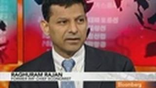Rajan Doubts Global Economy Faces Double-Dip Recession