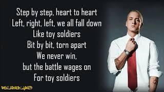 Eminem - Like Toy Soldiers (Lyrics)