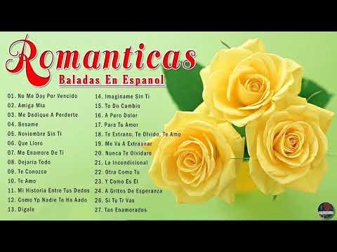Download Viejitas y Bonitas Baladas Romanticas en Español - Las Mejores Baladas Romanticas De Los 80 y 90
