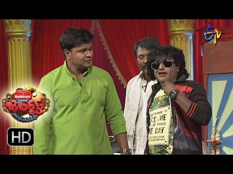 Bullet Bhaskar Sunami Sudhakar Performance | Jabardsth | 23rd March 2017 | ETV  Telugu