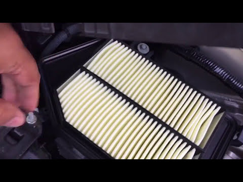 2013 - 2017 Honda Accord Engine Air Filter Replacement