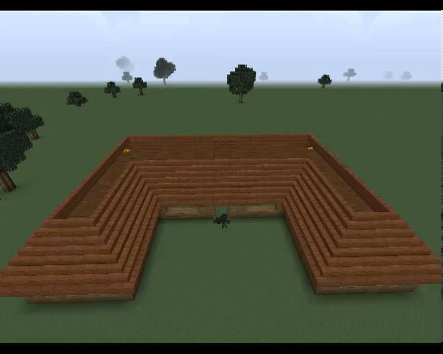 minecraft sch nes haus bauen in wenige schritte youtube. Black Bedroom Furniture Sets. Home Design Ideas