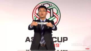 AFC Asian Cup UAE 2019 Qualifiers Final Round Draw highlights latest