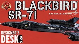 SR-71 Blackbird® - Custom Military Lego - At The Designer's Desk