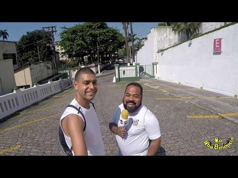 Subida Da Escadaria Do Monte Serrat Em Santos