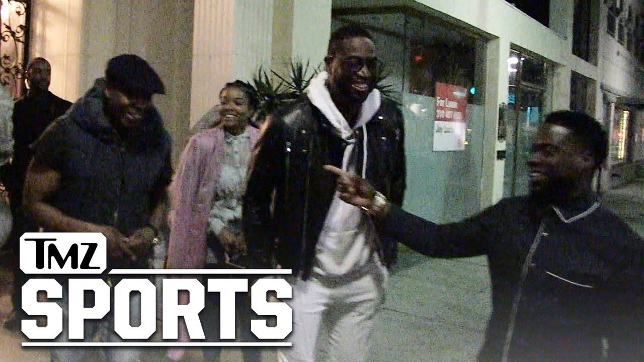 Dwyane Wade: 'Black History Month' Dinner w/ Dave Chappelle, Kevin Hart | TMZ Sports