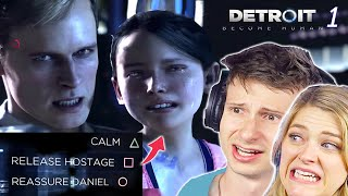 People Challenge Their Morals In Detroit Become Human • Scared Buddies
