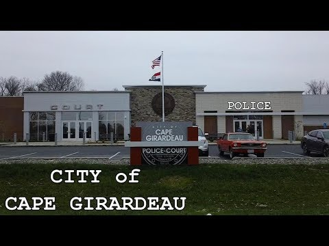 Inside Police Department With Corporal Richard Couch - City of Cape Girardeau, MO - USA