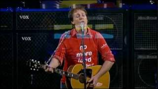 Paul McCartney - Yesterday (Live)