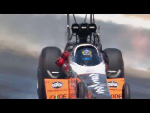 Things got WILD for Tony Schumacher and Clay Millican on this run