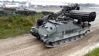 Trojan Armoured Engineer Vehicle -  armoured engineer vehicle - Tankfest 2016